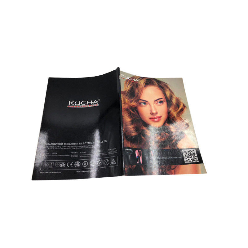 Softcover Glossy Magazine Printing Services Offset Printing OEM Service